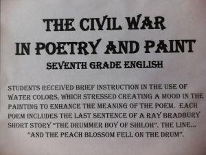 civil war poetry assign