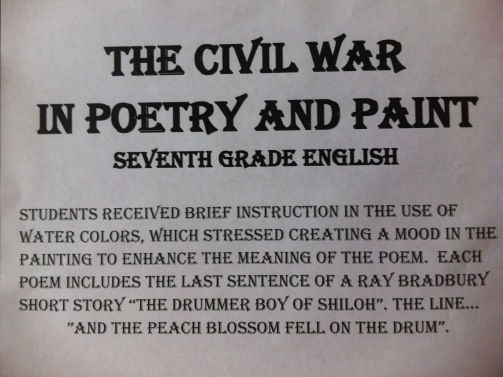 civil war poetry assign