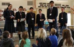 Japanese Visitors Kindergarten - 9166889